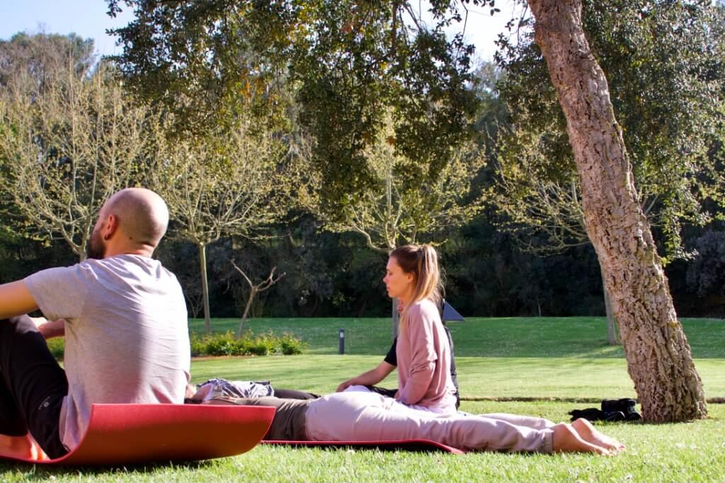 Meditación jardín II